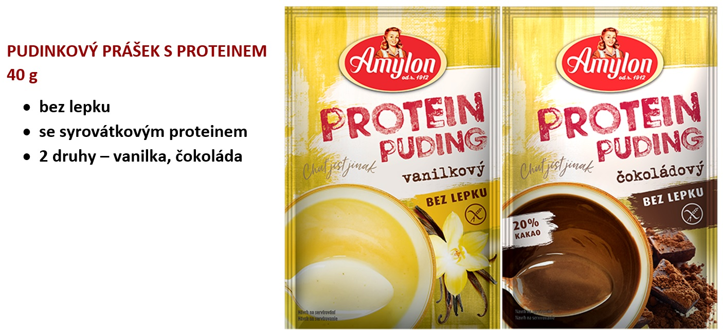 amylon protein pudinky