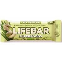 Bio raw Lifebar + Chia  Young Barley 47g Lifefood