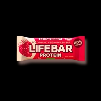 AKCE BIO RAW Lifebar Protein 47g Strawberry Lifefood