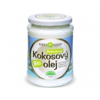 BIO kokosový olej 600 ml PURITY VISION