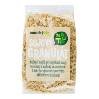 Sójový granulát natural 100 g COUNTRY LIFE