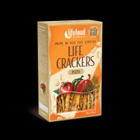BIO RAW Life Crackers á la pizza 70 g Lifefood