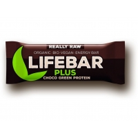 AKCE BIO RAW Lifebar + Choco Green Protein 47 g