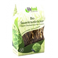 BIO RAW Life Crackers Zelánky 60 g Lifefood