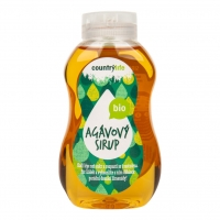 BIO sirup agávový 250 ml Country Life