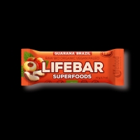 BIO RAW Lifebar Superfoods brazilská s guaranou 47g Lifefood