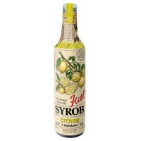 Syrob citron 500 ml Kitl