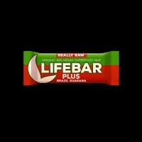 AKCE BIO RAW Lifebar + Guarana 47g Lifefood