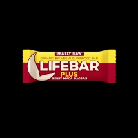 BIO RAW Lifebar + Berry,Maca,Baobab 47g Lifefood