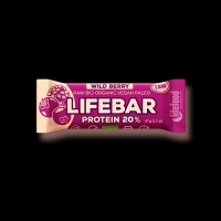 AKCE BIO RAW Lifebar Protein 47g Lesní ovoce Lifefood
